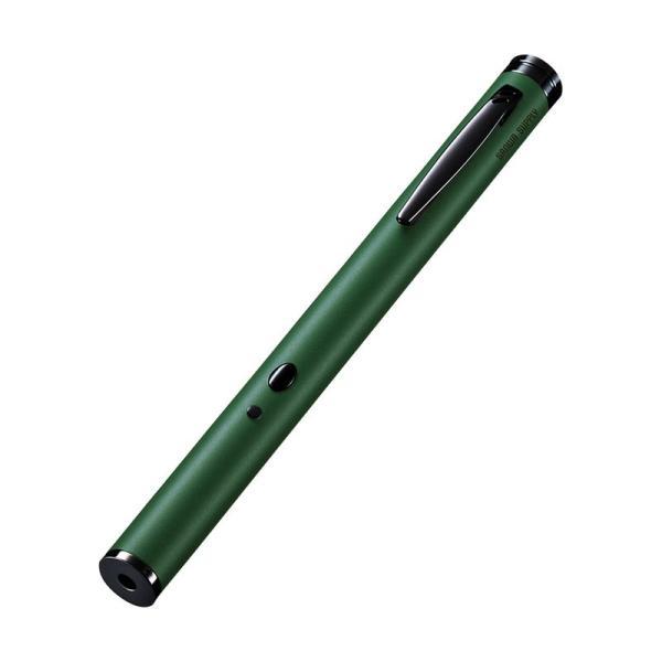 レーザーポインター グリーンレーザー 緑 電池 LP-GL1017G サンワサプライ