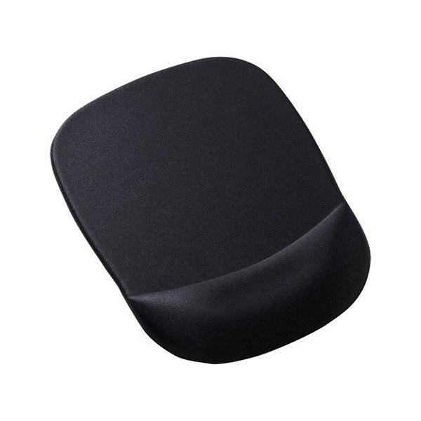 マウスパッド 低反発リストレスト付き  ブラック MPD-MU1NBK サンワサプライ