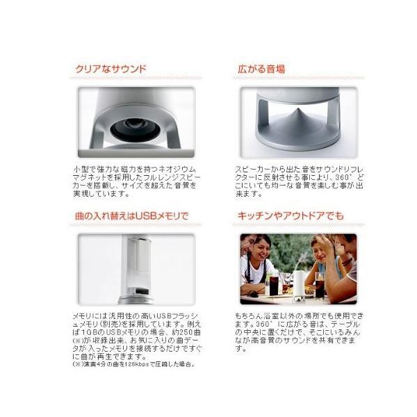 ノーリツ 防水MP3プレーヤー juke tower SJ-10MP esushoppu 04