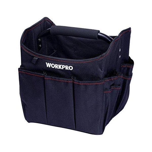 WORKPRO 折り畳みツールバッグ 250mm 工具差し入れ 道具袋 ツール収納バッグ 工具収納&運搬用|esushoppu