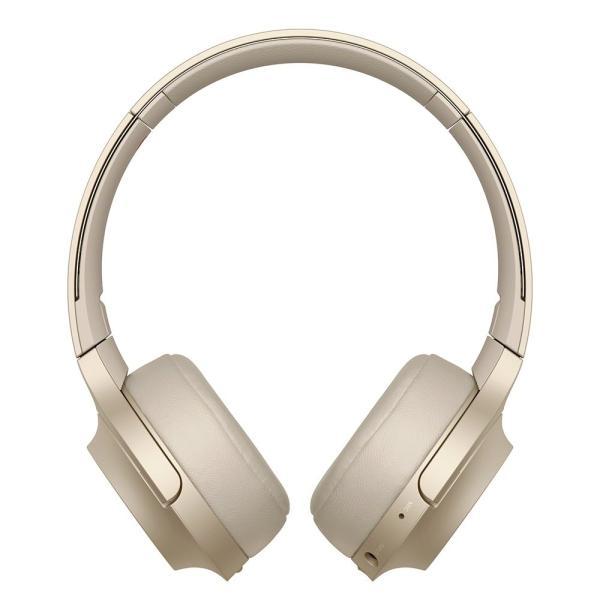 ソニー SONY ワイヤレスヘッドホン h.ear on 2 Mini Wireless WH-H800 : Bluetooth/ハイレゾ対応 最大24時間連続再生 密閉型オンイヤー マイク付き 2017年モデル|esushoppu|02