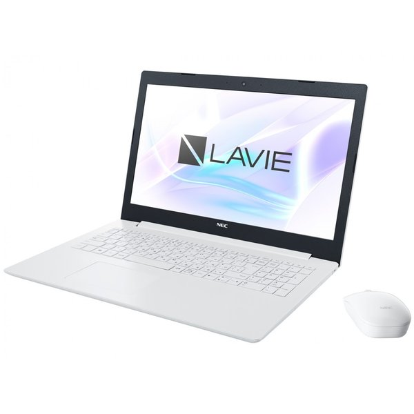 NEC LAVIE Note Standard PC-NS600KAW-KS カームホワイト【ケーズデンキオリジナルモデル】の画像