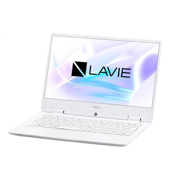 NEC PC-NM550KAW ノートパソコン LAVIE Note Mobile パールホワイト [12.5型 /intel Core i5 /SSD:256GB /メモリ:8GB /2018年1月モデル]の画像