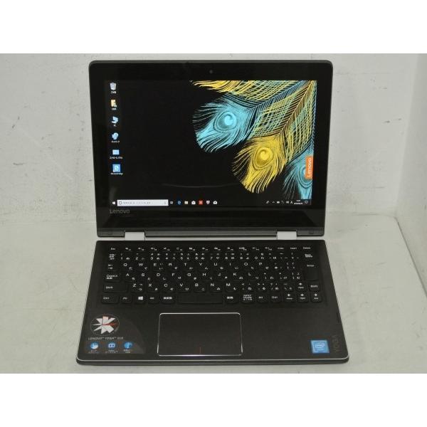80U20010JP ノートパソコン Yoga 310 エボニーブラック [11.6型 /intel Celeron /SSD:128GB /メモリ:4GB /2016年10月モデル]の画像