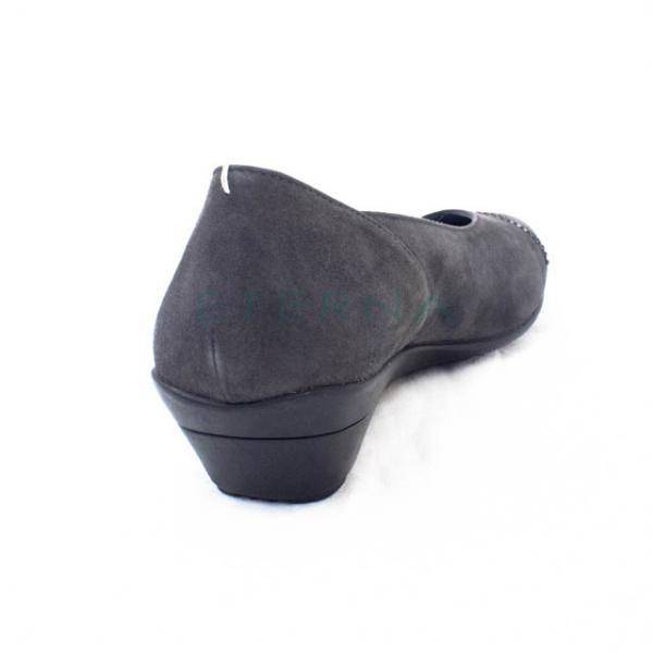 COMPOSITION9 コンポジション9 コンポジションナイン パンプス ウェッジソール ビブラムソール 走れるパンプス ブラック グレー J2677|eterna|06