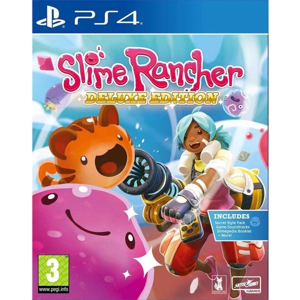 新品 SlimeRancherDeluxeEditionスライムランチャーデラックスエディションPS4日本語対応輸入版