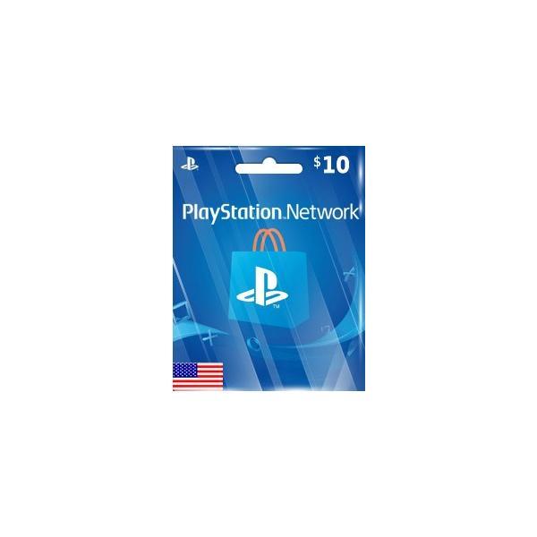 メール通知 PlayStationNetworkCard$10プレイステーションネットワークカード10ドル北米ストア