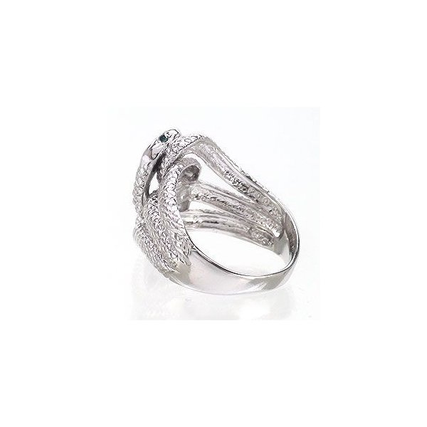 指輪 蛇 へび スネーク ダイヤモンド ブルーダイヤモンド 0.04ct シルバー925 リング レディース ジュエリー アクセサリー eternally 03