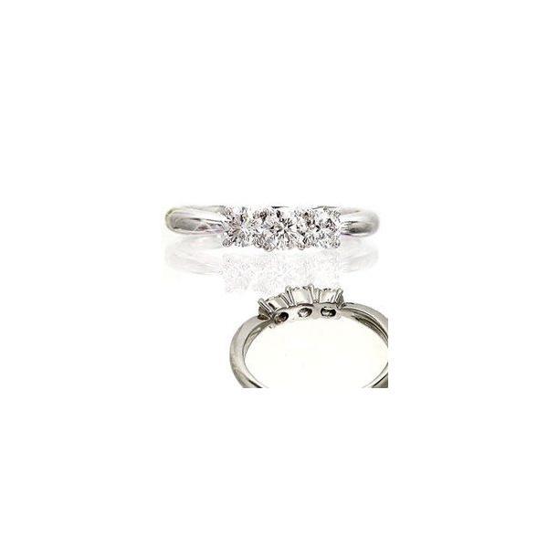 ダイヤモンド リング トリロジー スリーストーン 指輪 ダイヤモンド 0.5ct 3石 k18ゴールド 18金 レディース|eternally|02