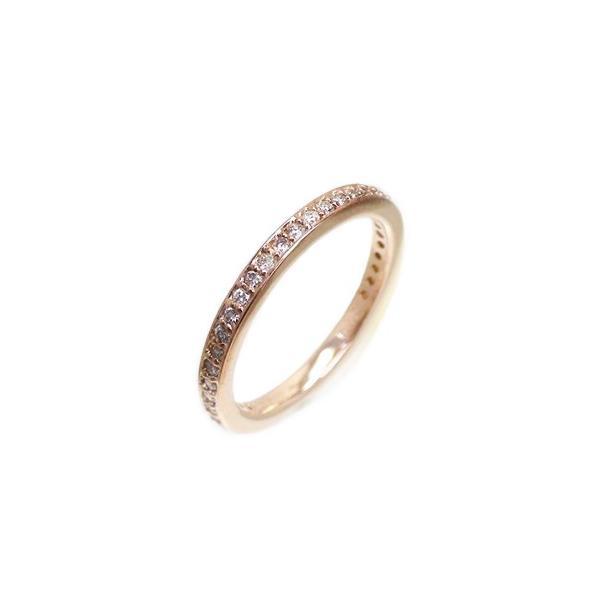 フルエタニティリング ダイヤモンド 0.35ct リング 指輪 サイズ13号 k18ピンクゴールド 18金 レディース アクセサリー