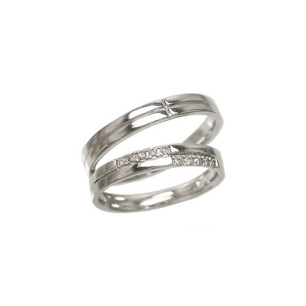 結婚指輪 ペアリング 2本セット ダイヤモンド プラチナ900 マリッジリング レディース ジュエリー アクセサリー ホワイトデー お返し プレゼント