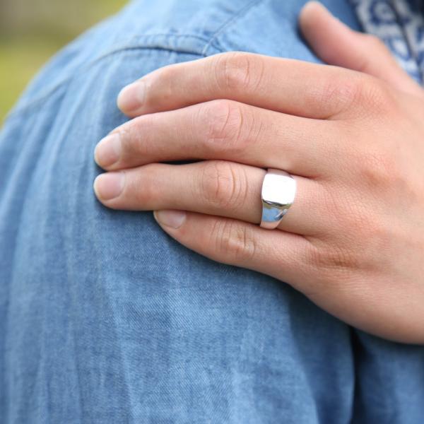 メンズリング 印台リング シルバー シルバー925 sv925 リング 指輪 メンズ アクセサリー レディース アクセサリー|eternally|05
