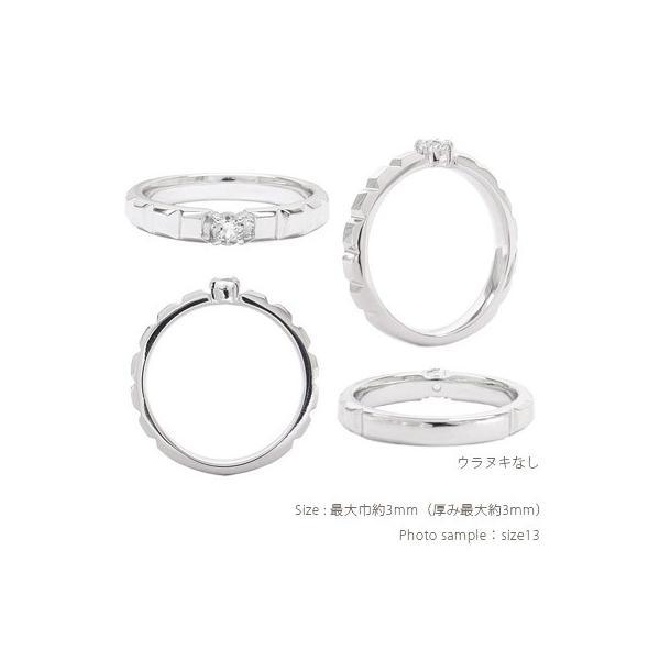 指輪 一粒ダイヤモンド ソリティア リング 0.1ct 18金 k18ゴールド レディース ジュエリー アクセサリー eternally 02