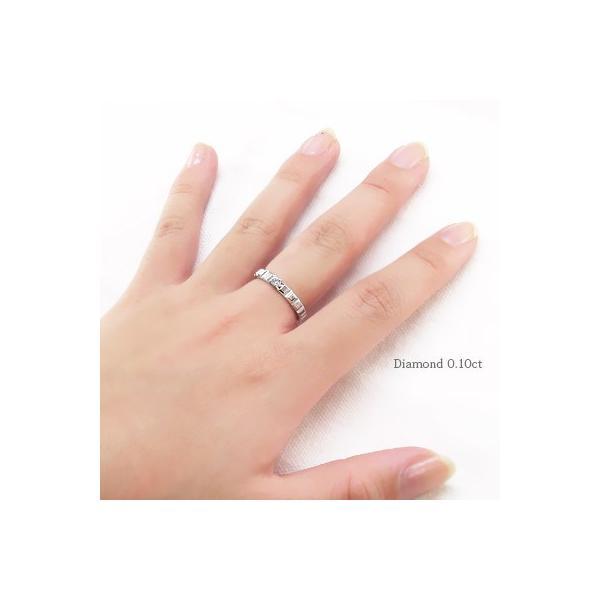 指輪 一粒ダイヤモンド ソリティア リング 0.1ct 18金 k18ゴールド レディース ジュエリー アクセサリー eternally 03