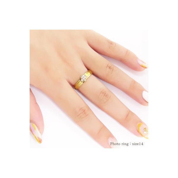 結婚指輪 ペアリング 2本セット k18 マリッジリング ダイヤモンド 18金 ゴールド クロス 十字架 男女兼用 レディース クリスマス プレゼント Xmas