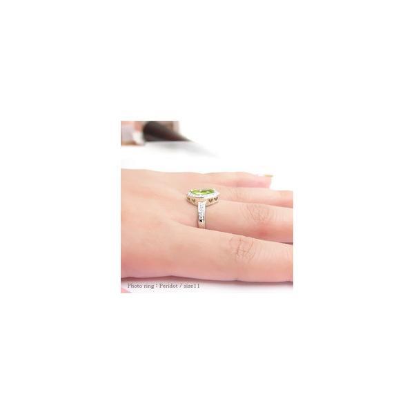 k18ゴールド ダイヤモンド リング 0.27ct カラーストーン 指輪 マーキスカット 18金 誕生石 取り巻き レディース|eternally|03
