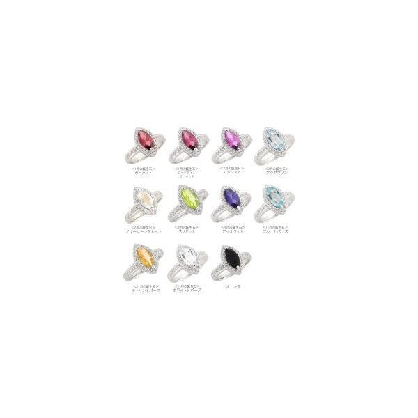 k18ゴールド ダイヤモンド リング 0.27ct カラーストーン 指輪 マーキスカット 18金 誕生石 取り巻き レディース|eternally|04
