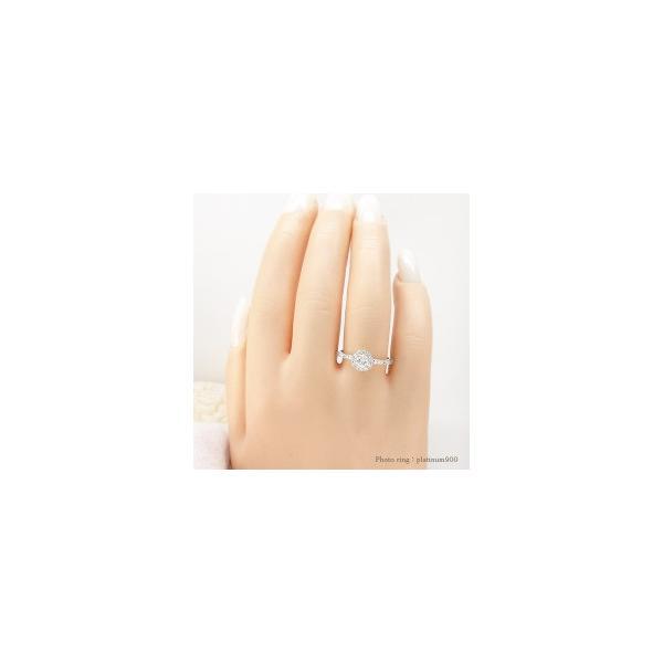 プラチナ900 ダイヤモンド 取り巻き リング 0.45ct 指輪 リング pt900 大粒 4月 誕生石 レディース アクセサリー ホワイトデー お返し プレゼント