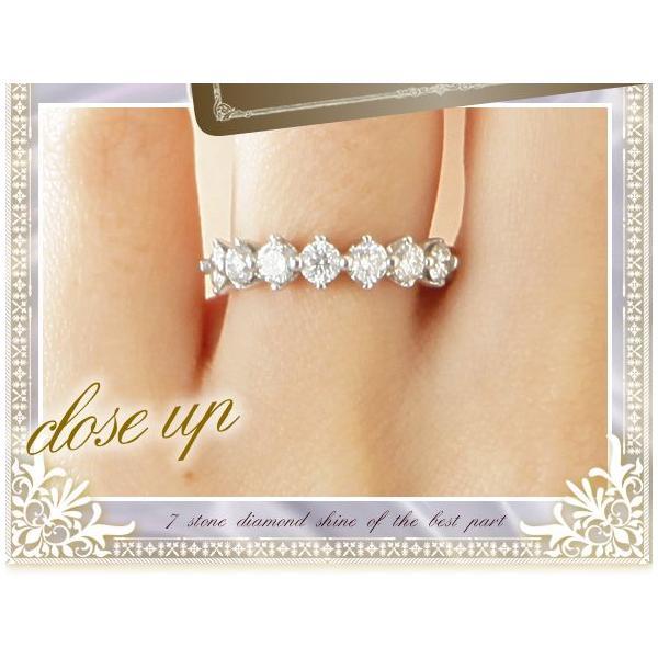 ダイヤモンド リング 1ct プラチナ900 pt900 ハーフエタニティリング 指輪 レディース ジュエリー アクセサリー|eternally|03