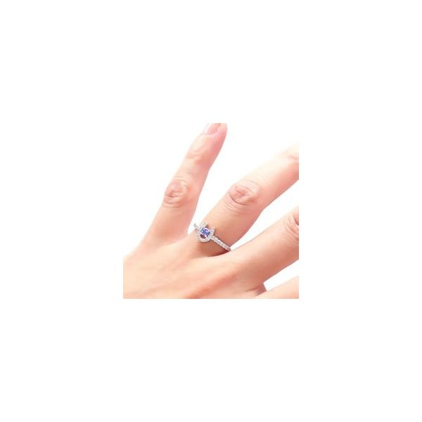 タンザナイト ダイヤモンド 0.2ct 馬蹄 ホースシュー 12月誕生石 指輪 k18ゴールド 18金 レディース アクセサリー|eternally|03