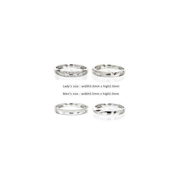 05a5e614c8 ... 結婚指輪 ペアリング 2本セット ダイヤモンド 0.1ct プラチナ900 pt900 指輪 マリッジリング ...