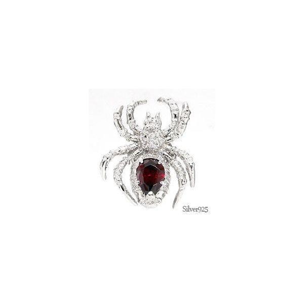 タイニーピン ラベルピン ピンバッジ ブローチ シルバー925 蛇 クモ 蜘蛛 男女兼用 レディース ジュエリー アクセサリー