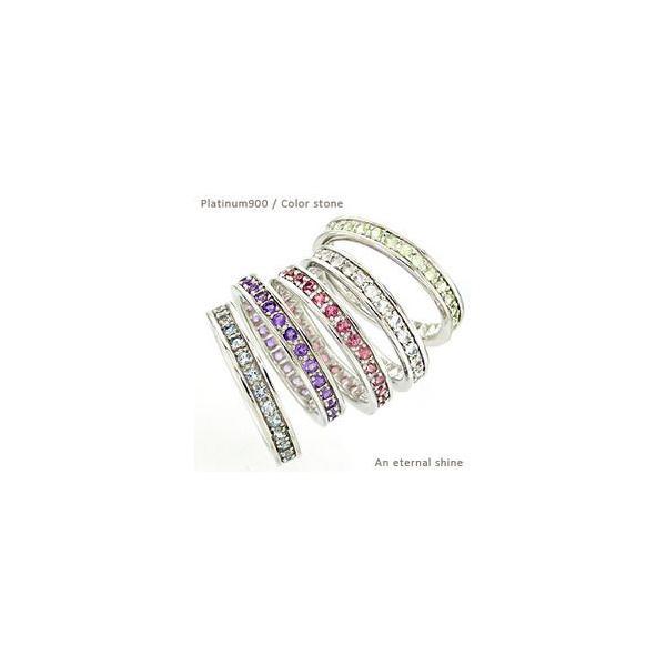 フルエタニティリング プラチナ900 pt900 指輪 カラーストーン レディース ジュエリー アクセサリー|eternally