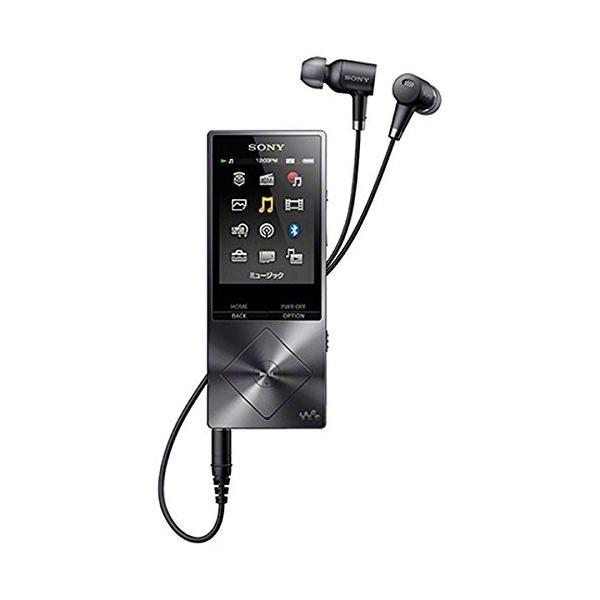 SONY ウォークマン A20シリーズ 16GB ハイレゾ音源対応 ノイズキャンセリング機能搭載イヤホン付属 2015年モデル チャコールブ