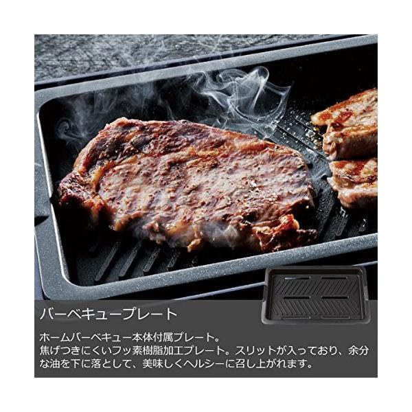 recolte HOME BBQ レコルト ホームバーベキュー + バラエティプレート + たこ焼きプレート 3点セット RBQ-1 (ネイ|eternalsea|08