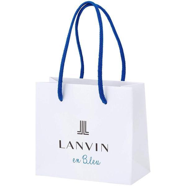 ランバン オン ブルー LANVIN en Bleu フォックスファー リボン クリップ ブルー LATH0465 B2