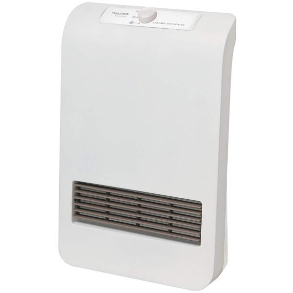 TEKNOS 温度2段階切替式 セラミックヒーター TS-123(W)