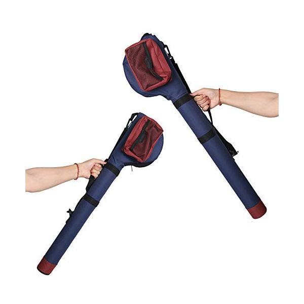 Maxcatch ロッドチューブ ポータブルロッドケース フライフィッシング ロッド&リールケース、、9 '4pc、シングル ロッドケース