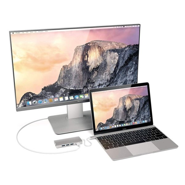 Satechi V2 マルチ USB ハブ Type-C パススルー充電 4K HDMI出力 カードリーダー USB3.0ポートx3 (シル|eternalsea|04