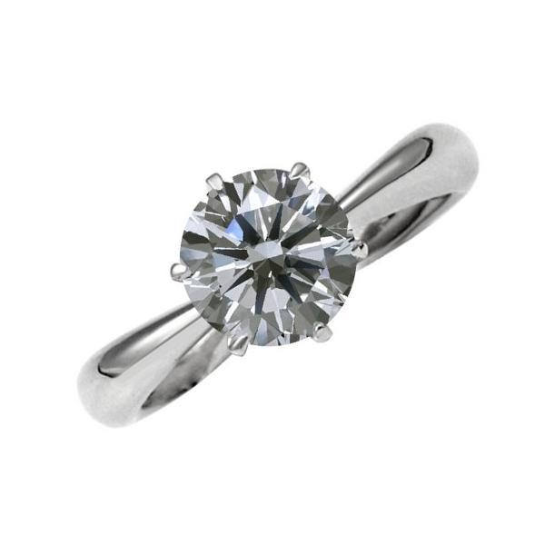 [e100001]Pt900ダイヤモンド エンゲージリング1.0Ct/D/IF/3EX(H&C) ハイクオリティ婚約指輪 中宝鑑定書付 心に残る美しい輝きをあなたの手元に。