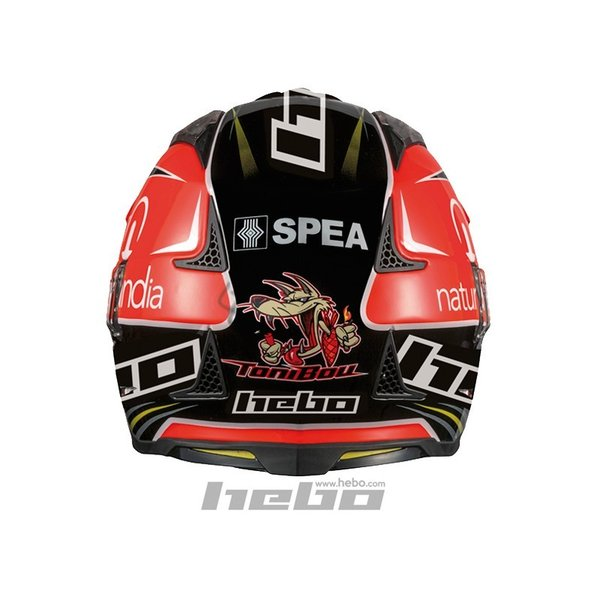 HC1023 ZONE4 トニ・ボウ レプリカ HEBO エボ トライアルヘルメット MFJ公認|ethosdesign|02