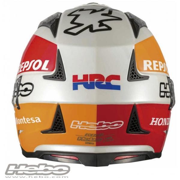HC1050 ZONE4 MONTESAチーム HEBO エボ トライアルヘルメット MFJ公認|ethosdesign|03