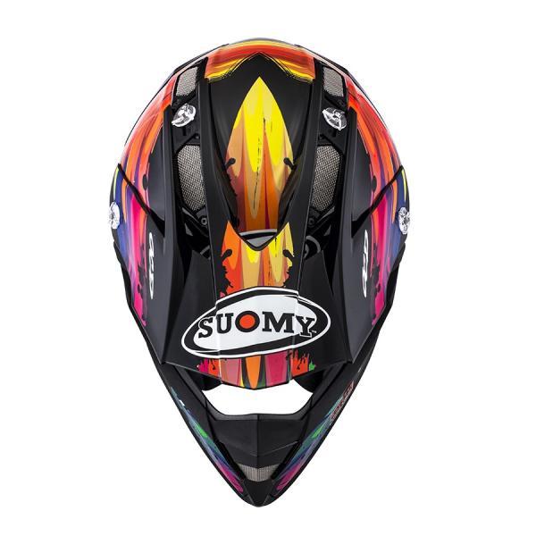 SAL0011 SUOMY ALPHA TORCHED トーチド ヘルメット SGマーク 公道走行 MFJ公認レースOK モトクロス エンデューロ  オフロード ラリー|ethosdesign|02
