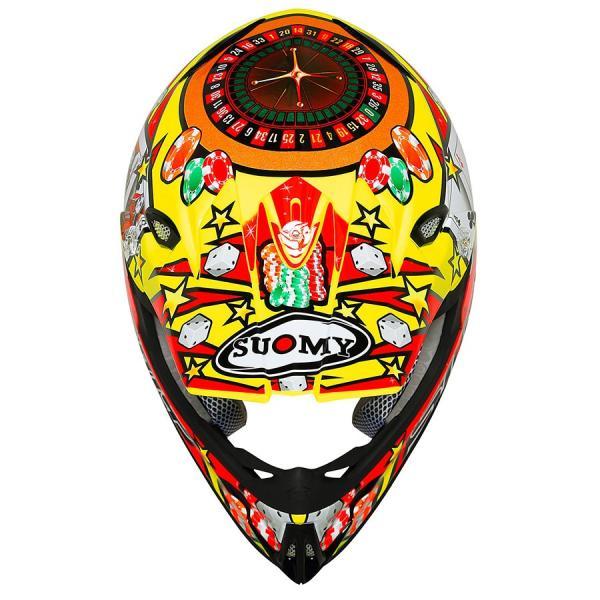SMJ0020 SUOMY MR.JUMP JACKPOT ジャックポット イエロー ヘルメット SGマーク 公道走行 MFJ公認レースOK モトクロス エンデューロ オフロード|ethosdesign|02