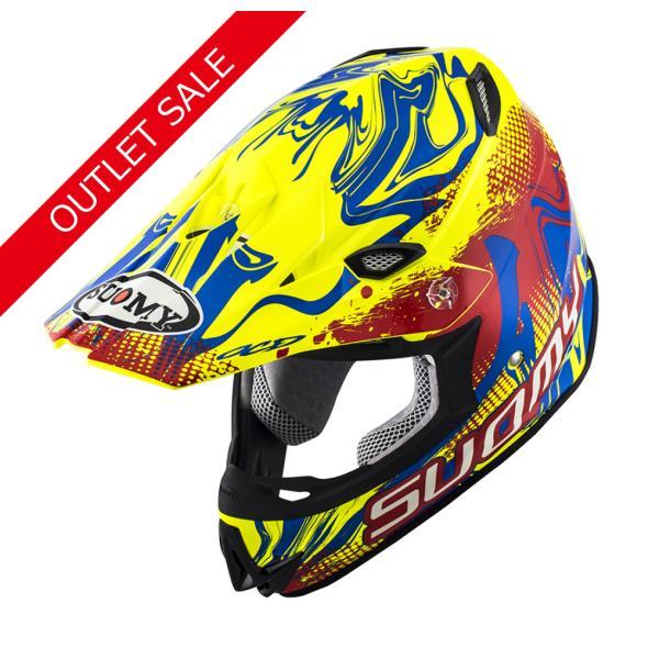 SMJ0036 SUOMY MR.JUMP GRAFFITI RY グラフィティRY ヘルメット SGマーク 公道走行 MFJ公認レースOK モトクロス エンデューロ オフロード|ethosdesign