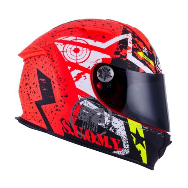SSR0022 SUOMY SR-SPORT STARS スターズ オレンジ ヘルメット SGマーク 公道走行OK|ethosdesign|02