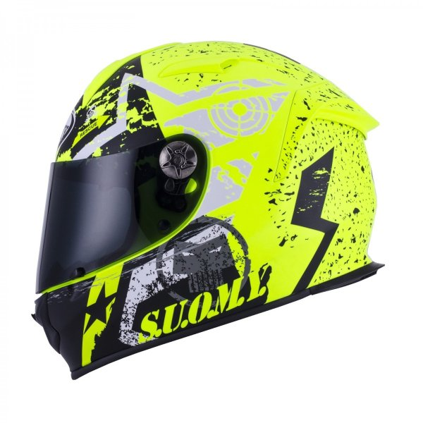 SSR0024 SUOMY SR-SPORT STARS スターズ イエロー ヘルメット SGマーク 公道走行OK ethosdesign 03