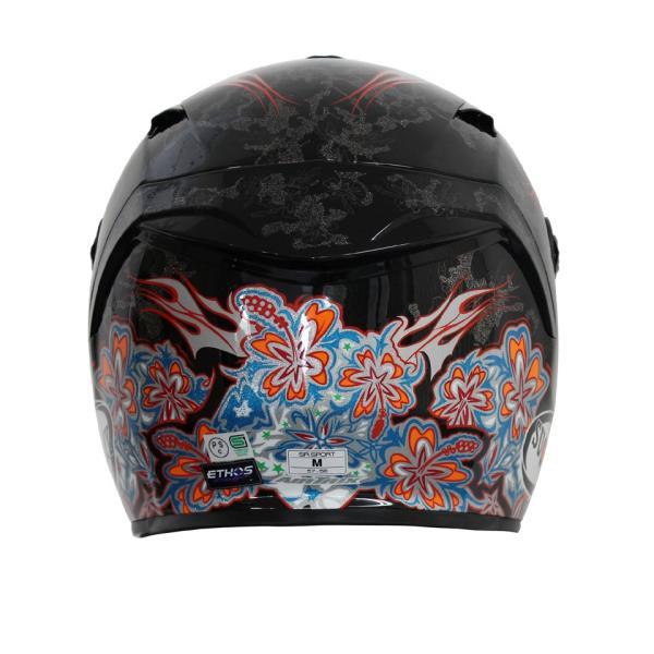 SSR00F6 SUOMY SR-SPORT FLOWER フラワー パールブラック ヘルメット SGマーク 公道走行OK 日本限定販売 ethosdesign 04