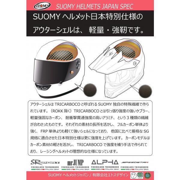 SSR00F6 SUOMY SR-SPORT FLOWER フラワー パールブラック ヘルメット SGマーク 公道走行OK 日本限定販売 ethosdesign 08