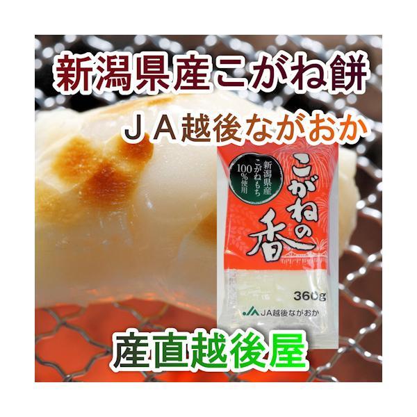 ギフト お餅 贈答品  新潟 餅 杵付こがね餅 JA越後ながおか産 こがねの香 360g(8枚入) 1パック 送料無料