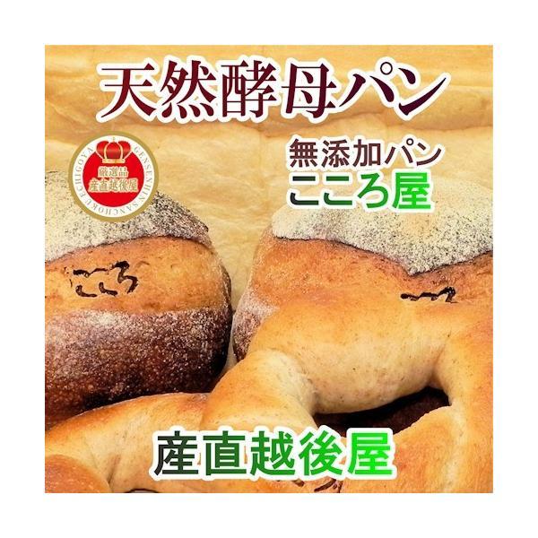 パン 天然酵母パン 食パン 長野県諏訪市  天然酵母パン こころ屋 焼き立て天然酵母食パン 1斤(山食)ライ麦カンパーニュ 2個セット 送料無料