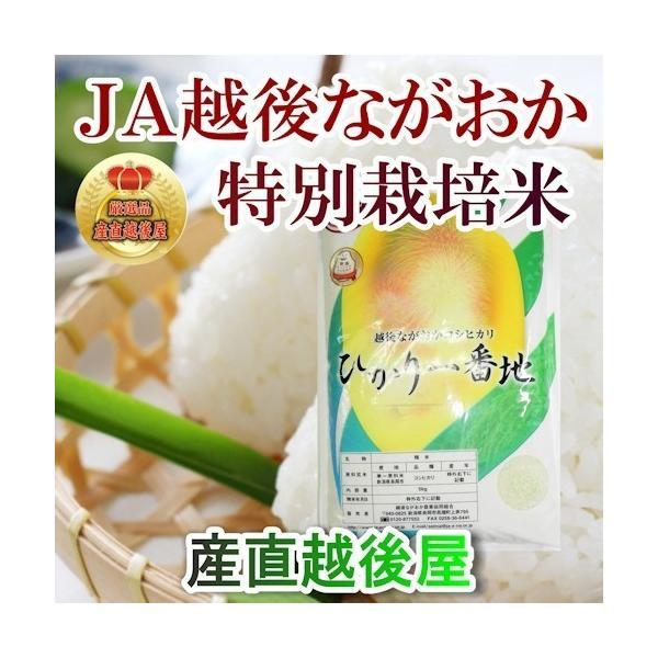 米 令和2年産 コシヒカリ 30kg 玄米 特A地区 特別栽培米 新潟産 JA越後ながおか農協 産地限定 送料無料