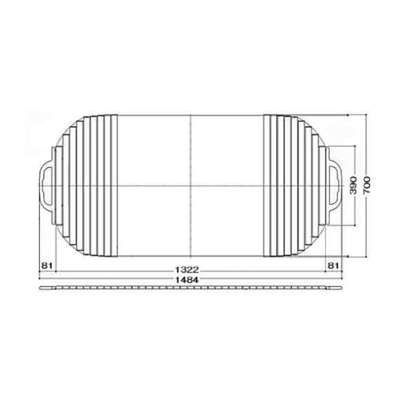 風呂ふた 巻ふた シャッター式 把手付き 浴槽サイズ 70×150cm用(実寸サイズ70×148.4cm) EKK709W4 / TOTO
