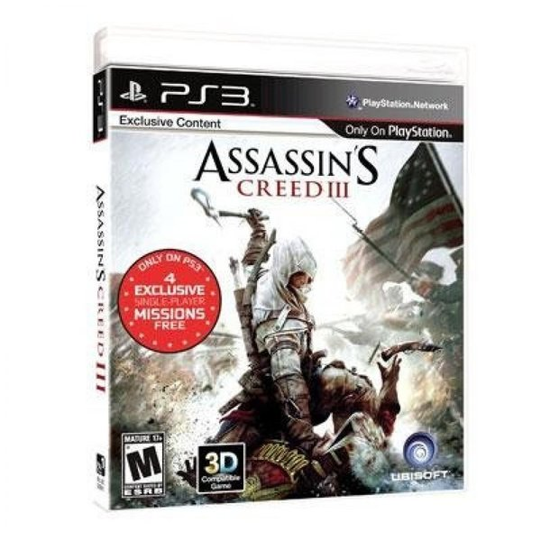 Assassins Creed 3ps3 Original Game Cases & Boxes