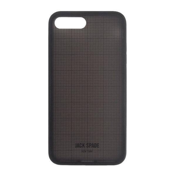 ジャックスペード iPhone 6PLUS 7PLUS 8PLUS ケース グリッド JACK SPADE printed cliear case for iPhone 6 PLUS / 7 PLUS / 8 PLUS GRAPH CHECK|etny