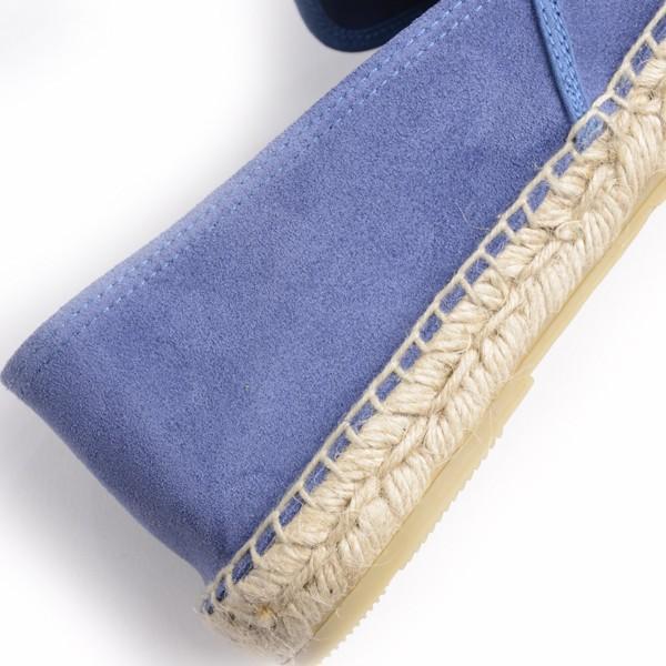 カルザノール メンズ CALZANOR MEN'S 1783 スエードスリッポン ブルー系 エスパドリーユ ジュートサンダル スエードアッパー ラバーソール|eton|04